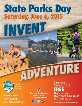 2015 State Parks Day Flyer