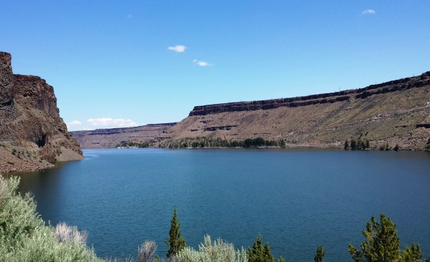 Lake Billy Chinook May 28, 2015