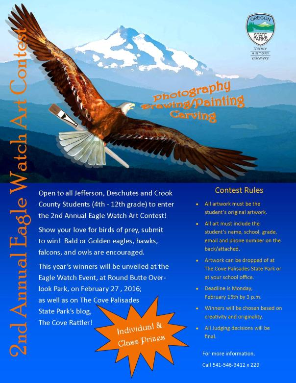 Eagle Watch Art Contest Flyer