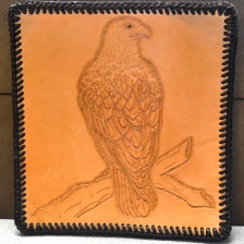 Culver Middle School - 1st Place Leather Carving - Tegan Macy